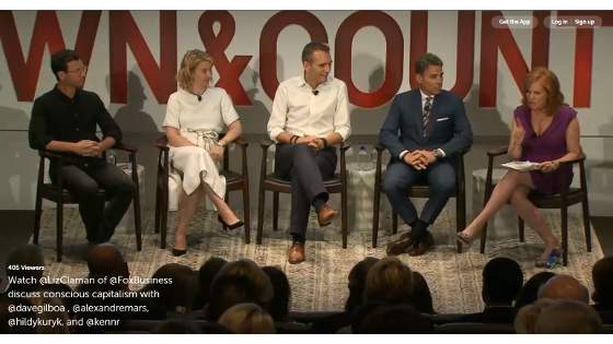 Town & Country Philanthropy Summit, 'Conscious Capitalism'